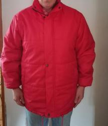 Zimska jakna iguana - Srbija: Muška zimska jakna, sa kapuljačom, veličina L