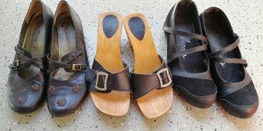 Komplet od tri para letnje ženske obuće, veličine 39.   - Beograd