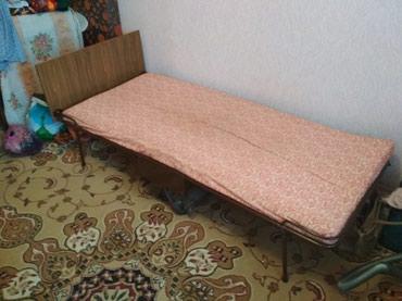 Кровать односпальная с матрасом в Бишкек