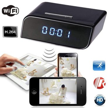 HD WIFI Clock camera  новая  полный комплект  в Душанбе