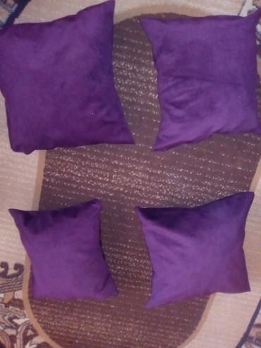 Bunda od pravog krzna - Varvarin: Ljubicasti jastuci od mebla