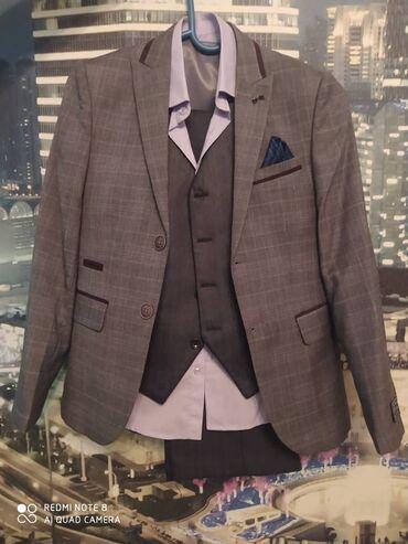 Детская одежда и обувь - Мыкан: Продаётся костюм тройка с рубашкой на 8-10 лет одевали 1 раз
