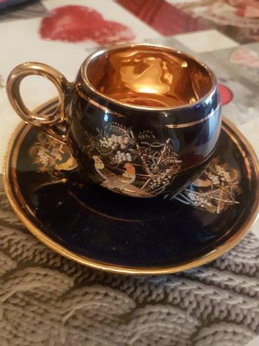 Кофейные чашки с блюдцами 100 ман в Bakı