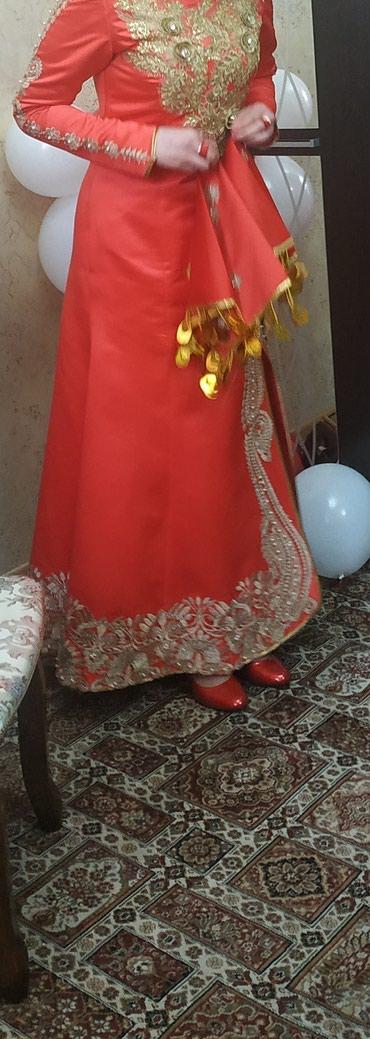 Национальное свадебное платье сшито в Бишкек
