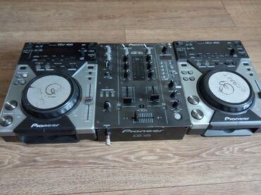pioneer 6050 в Кыргызстан: Продаю pioneer cdj 400 x2 + djm400. Фул комплект легендарных четырехсо