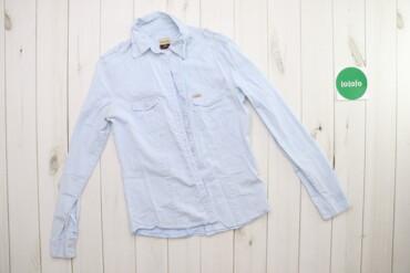 Рубашки и блузы - Цвет: Голубой - Киев: Жіноча сорочка у вертикальну смужку Tiffosi Denim    Довжина: 67 см Ши