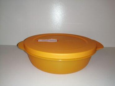 Mikrotalasna - Srbija: Tupperware Crystalwave 1lPosuda za cuvanje namirnica u frizideru, i