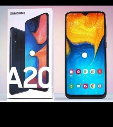 sim karta dlja iphone 5 в Кыргызстан: Б/у Samsung A20 32 ГБ Черный