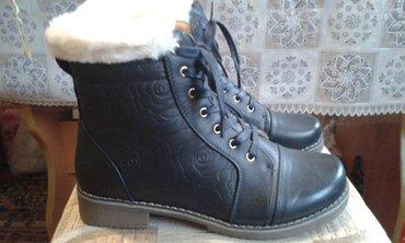 Женские ботиночки, цвет темно-синий, в Бишкек