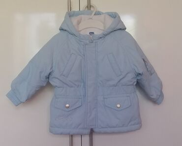 Kaputi - Srbija: Chicco zimska jakna 68 - 74, 6 - 9 mes. Ocuvana i topla jakna za bebe