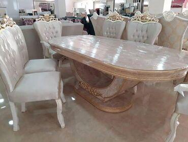 Ev və bağ Masallıda: Stol stul desti . masa ve oturacaqlar . 6 . 8. 10 nəfərlik . əlavə
