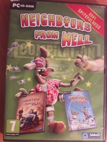 Pc game Neighbours From Hell 2 dela na jednom cd-u - Sabac