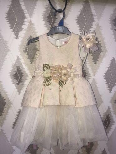 uşaq üçün darta veyder kostyumu - Azərbaycan: Детское платье на 2-3 года. Сделано в Турции. Покупали за 70 азн. Наде