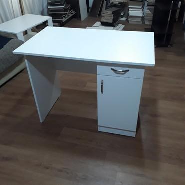 Стол офисный белый 100х60Стол Стол офисныйСтол компьютерныйПисьменный