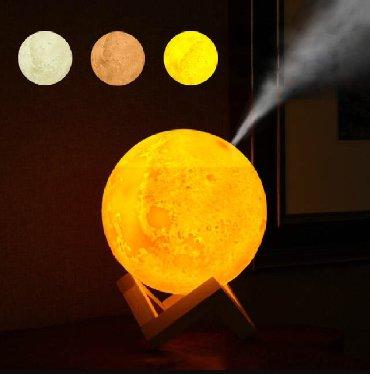 Ночник луна и увлажнитель воздуха
