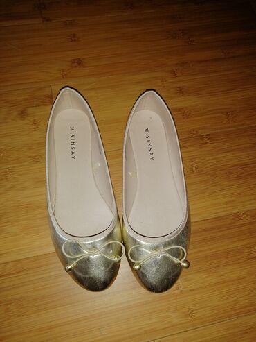 Ženska obuća | Rumenka: Sinsay baletanke, 38 Nosene koji put. U super stanju. Gaziste 24 cm
