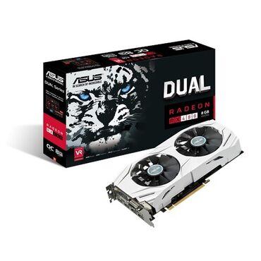 ASUS Radeon RX480 Mb 256 bit DVI 2xHDMI 4096 МБ DirectX 12 . хорошая