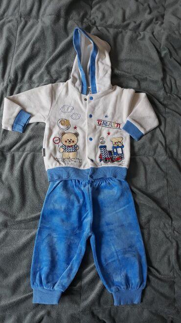 Ostala dečija odeća | Valjevo: Trenerkica za decaka, velicina 9-12 meseci
