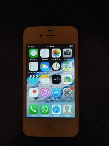 velosiped 16 dyuimov в Азербайджан: Б/У iPhone 4S 16 ГБ Белый