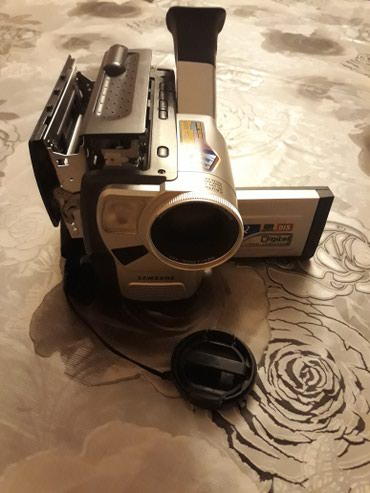 S4 zoom - Azərbaycan: Самсунг видеокамера: DIGITAL ZOOM 880X.Əla veziyetde, oz kasetleriynen