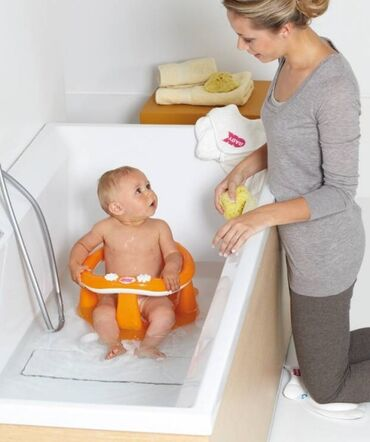 ванночки стульчики для купания в Азербайджан: Комфортный детский стульчик-сиденье в ванную создан специально для