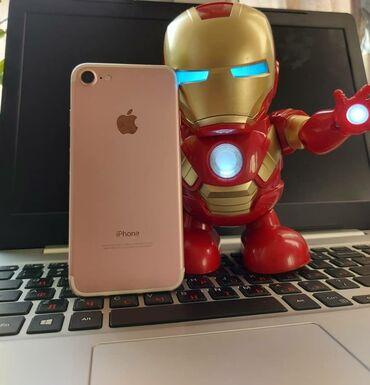 iphone под подушкой в Кыргызстан: Б/У iPhone 7 32 ГБ Розовое золото (Rose Gold)