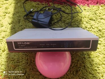 АДСЛ TP-Link TD-8840T Модем для провейдера Кыргыз Телекома в городе Ош