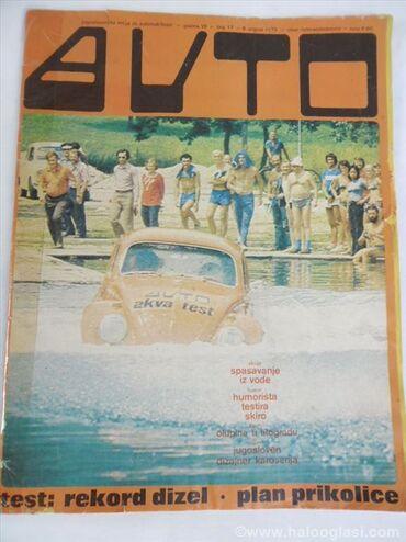 Casopisi Auto,96 kom.cena za komplet. Spisak:1970 br.4,1972