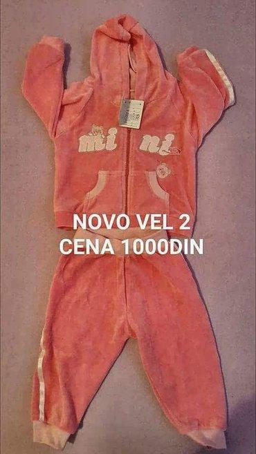 Nova plisana trenerka vel 2. - Belgrade