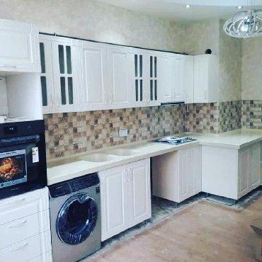 деревянная мебель для спальни в Азербайджан: Metbex mebeleri 150 manatdan başlayaraq sifarişle yığılır