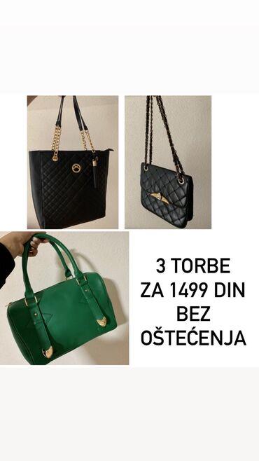 Dodatni posao - Srbija: Saljem dodatne slikeee!Prodajem 3 torbe za 1499 din Dve vece i jedna