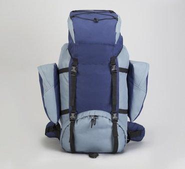 Рюкзаки в Кыргызстан: Рюкзак туристический с усиленной спинкой 80 литров. Размер 35 см × 25