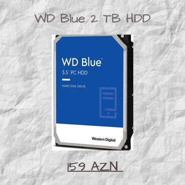 hard disc - Azərbaycan: WD Blue 2TB Hard Disk. Sifarişlər yalnız Amerikadan gətirilir