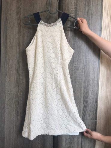 Новое гипюровое-кружевное платье на в Бишкек