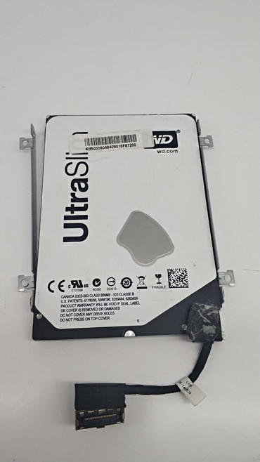 жесткие диски hdd для массового применения в Кыргызстан: Продаю жёсткий диск для ультрабуков, разъём необычный редкий. 500гб wd