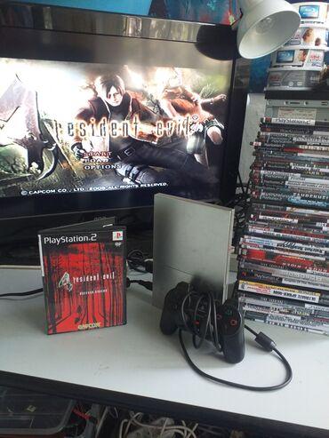 Видеоигры и приставки - Кыргызстан: Игровая приставка Playstation 2 ps2 пс 2 плейстейшен 2 в отличном