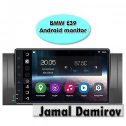 bmw monitor - Azərbaycan: BMW E39 üçün Android monitor.   Bundan başqa HƏR NÖV AVTOMOBİL AKSESSU