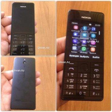 Bakı şəhərində Nokia 515* idea lveziyyetdedi-karobkali adaptr var 160 azn