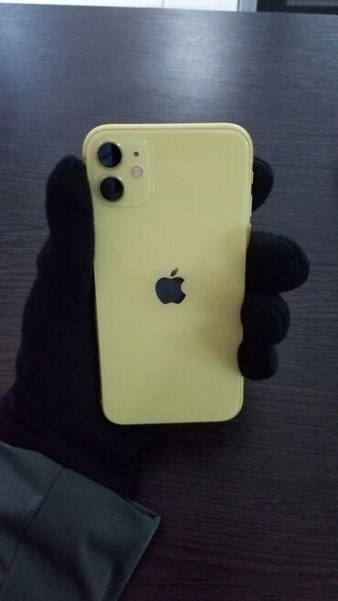 iphone под подушкой в Кыргызстан: Б/У IPhone 11 64 ГБ Желтый