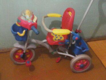 Детский мир - Чон-Таш: Велосипед, детский, три колеса, в хоррошем состоянии