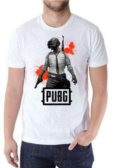 Мужская одежда - Кара-Балта: Футболки в стиле PUBG, из турецкой ткани. Не линяет, дышащие, при