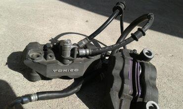 Мотоциклы и мопеды - Беловодское: Суппорта тормозные в сборечетырех поршневые для японских мото .5000