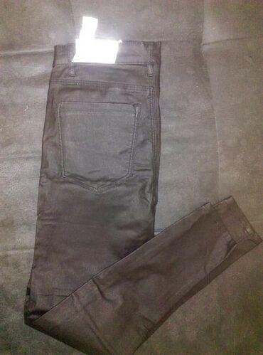 Pantalone kozne - Srbija: Nov stradivarius kozne pantalone