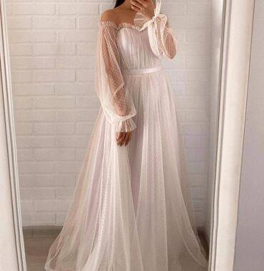 Платье свадебное/вечернее, абсолютно новое, ни разу не одевали