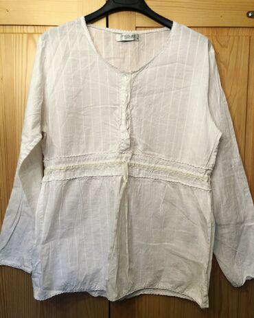 Majica la costa - Srbija: Košulja od lana, veličina je 44