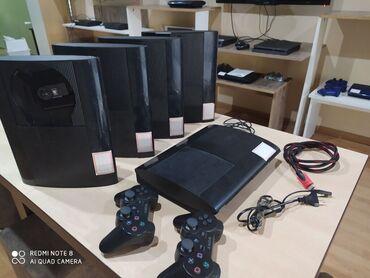 almaq - Azərbaycan: Sony Playstation 3 super slim satılır. 2 joystiklə. 320GB yaddaş və