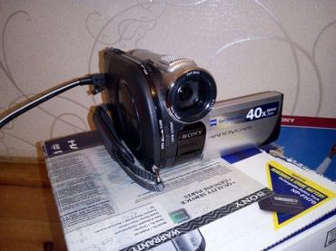 Bakı şəhərində SONY DCR-DVD608E (Made in Japan) videokamera çəkən satılır