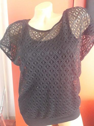 Style-majica-leptir-rukavi-crna-marka - Srbija: Majica crna nova