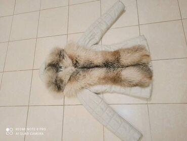 Продаю кожанную куртку с натуральным лисийим мехом теплая курточка!🤗