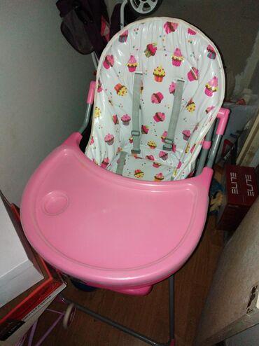Malo korišćena stolica za hranjenje. Kao nova, 3000din